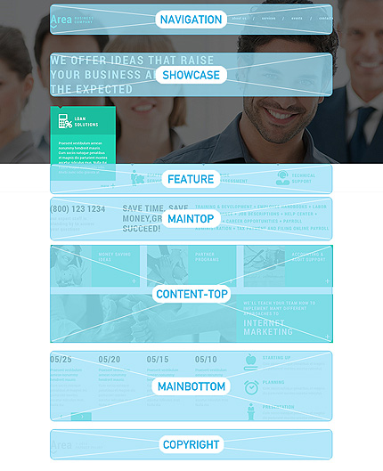 Joomla Theme/Template 50705 Main Page Screenshot