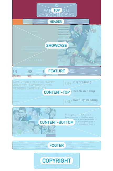Joomla Theme/Template 50706 Main Page Screenshot