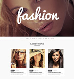 Fashion Drupal  Template 50708