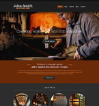 Personal Page Website  Template 50709