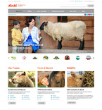 Agriculture Website  Template 50713