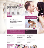 Entertainment Website  Template 50714