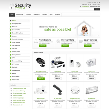 Купить  пофессиональные ZenCart шаблоны. Купить шаблон #50722 и создать сайт.