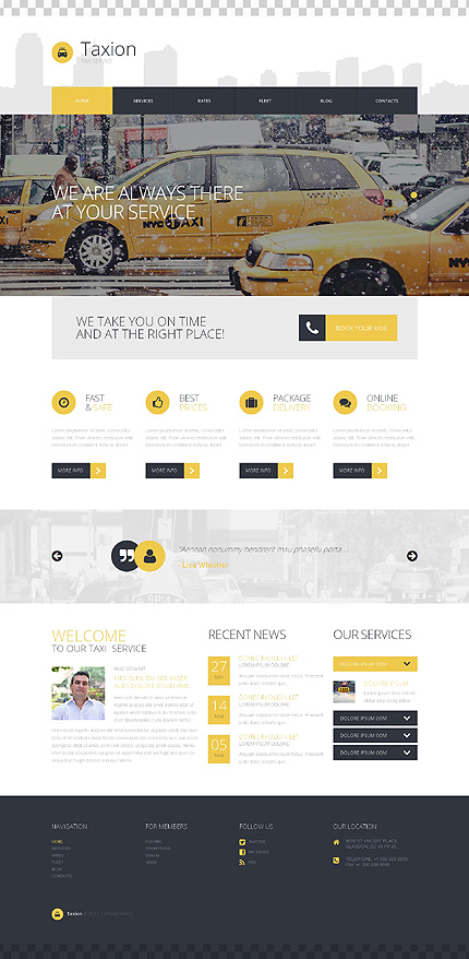 WordPress Theme/Template 50723 Main Page Screenshot