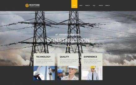 Roxtone - Construction Company Responsive Creative HTML Website Template