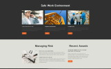"""Responzivní Šablona webových stránek """"Roxtone - Construction Company Responsive Creative HTML"""""""