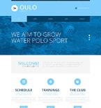 Sport Website  Template 50730