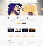 Music WordPress Template 50740