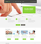 Web Hosting WordPress Template 50742