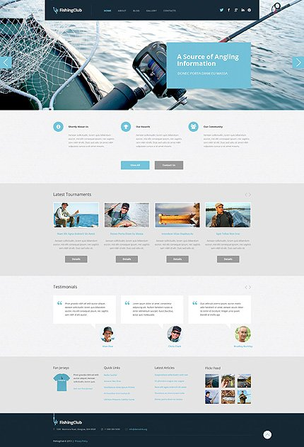 WordPress Theme/Template 50743 Main Page Screenshot