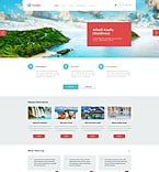 Travel WordPress Template 50744