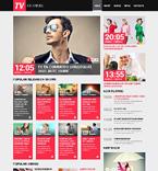 Media Website  Template 50750