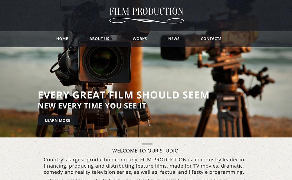 Responsive Website template over Videolab New Screenshots BIG