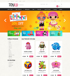 Entertainment osCommerce  Template 50752