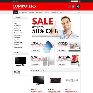 Купить  пофессиональные ZenCart шаблоны. Купить шаблон #50754 и создать сайт.