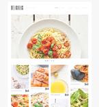Cafe & Restaurant WordPress Template 50762
