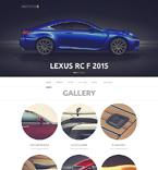 Cars WordPress Template 50763
