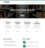 Education Website  Template 50769