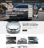 Cars Website  Template 50771