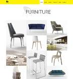 Furniture Website  Template 50772