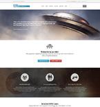 Science Website  Template 50773