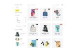 """Vector - Print Shop Multipage Modern HTML"" modèle web adaptatif"