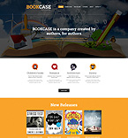 Books Website  Template 50777