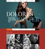 Personal Page Website  Template 50778