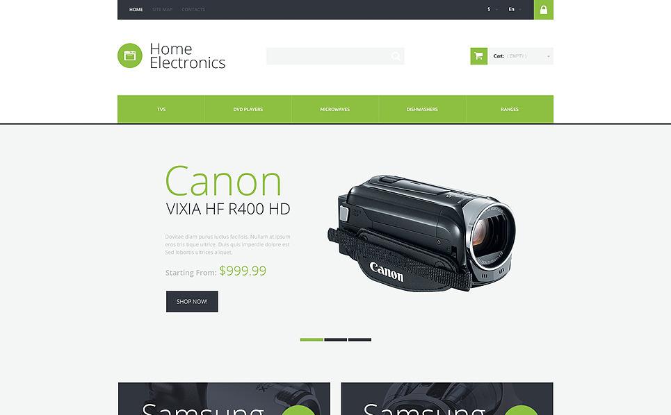 Responsywny szablon PrestaShop Elektrotechnika dla domu #50779 New Screenshots BIG