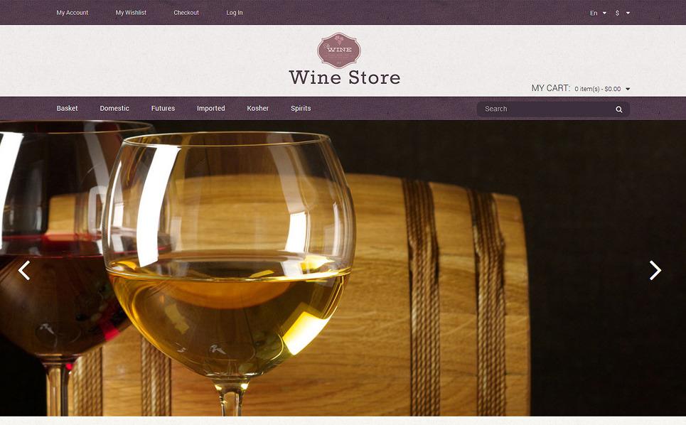Responsive Şarapçılık  Magento Teması New Screenshots BIG