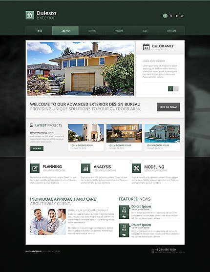 Drupal Template 50790 Main Page Screenshot