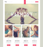 Sport WordPress Template 50792