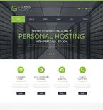 Web Hosting WordPress Template 50793