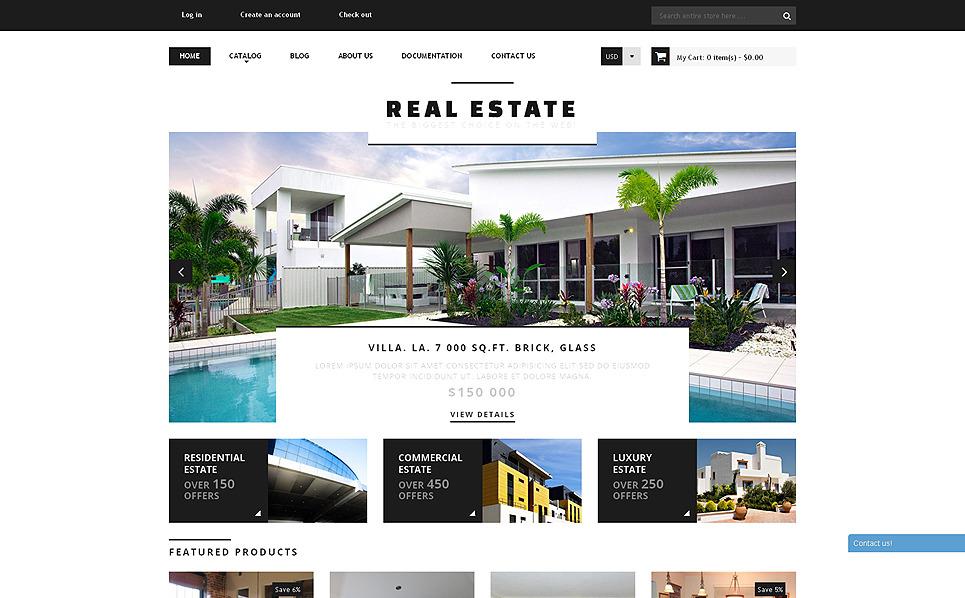 Responzivní Shopify motiv na téma Realitní kancelář New Screenshots BIG