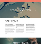 Communications Joomla  Template 50796