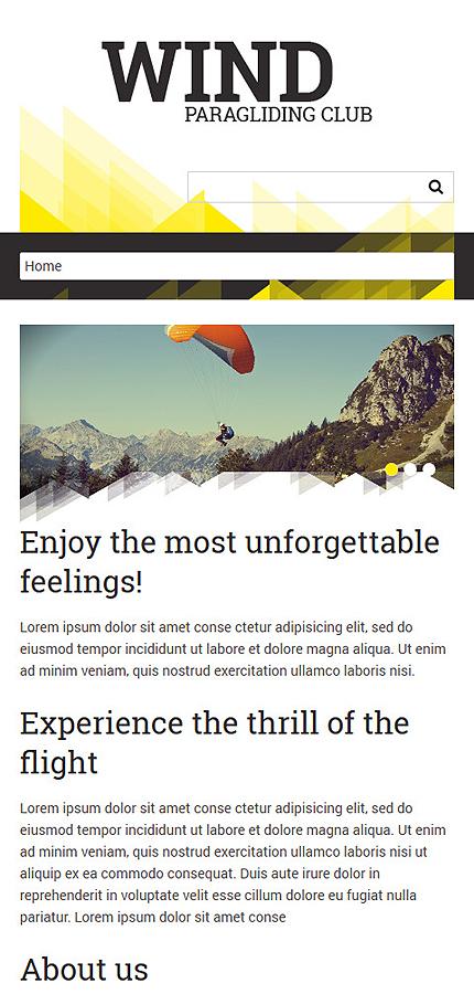 Joomla Theme/Template 50798 Main Page Screenshot