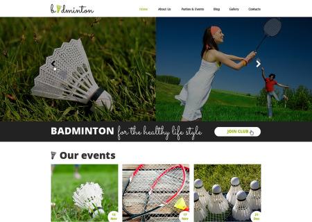 Badminton Responsive