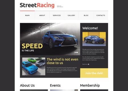 Car Racing Responsive