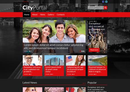 City Portal Responsive