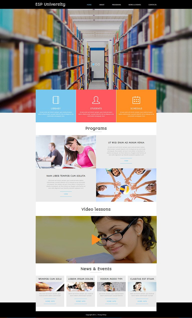 Education Centre Joomla Template New Screenshots BIG