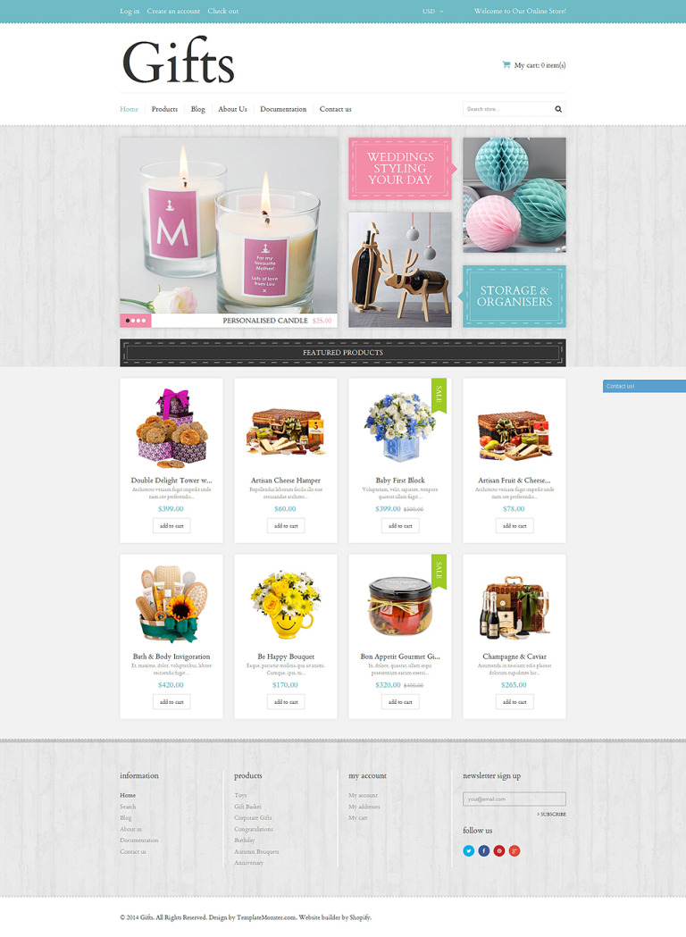 Elegant Gifts Shopify Theme New Screenshots BIG