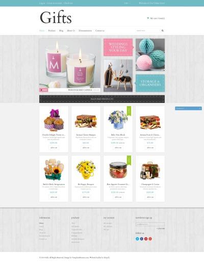 Elegant Gifts Shopify Theme #50768