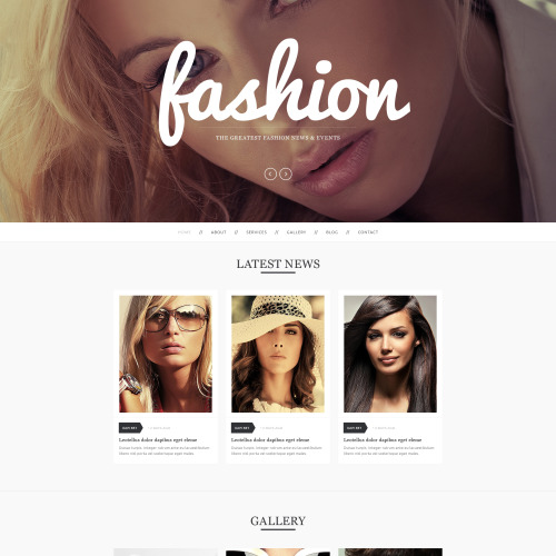 Fashion - HTML5 Drupal Template