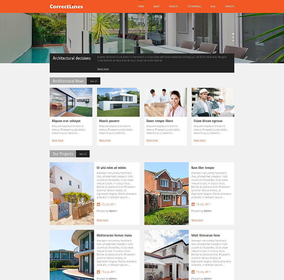 Ingenious architecture wordpress theme site title for Architecture wordpress
