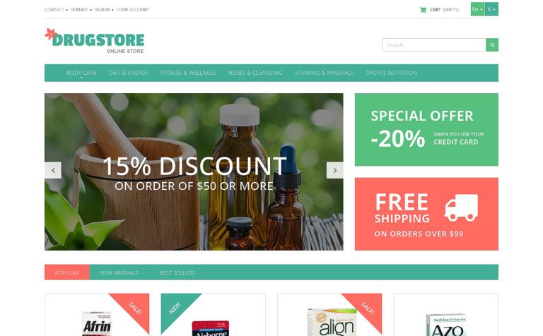 Medicine and Health PrestaShop Theme