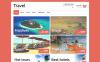 Modello Magento Responsive #50702 per Un Sito di Agenzia di Viaggi New Screenshots BIG