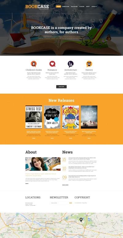 Publishing Company Responsive Template Siti Web