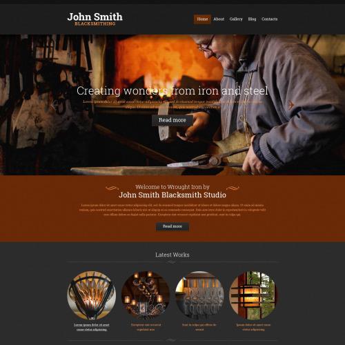 John Smith  - Responsive Website Template