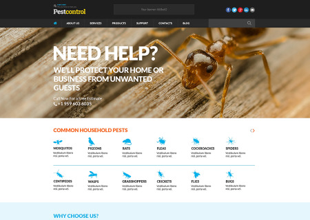 Pest Control Responsive