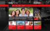 Responsive Website Vorlage für Stadtportal  New Screenshots BIG
